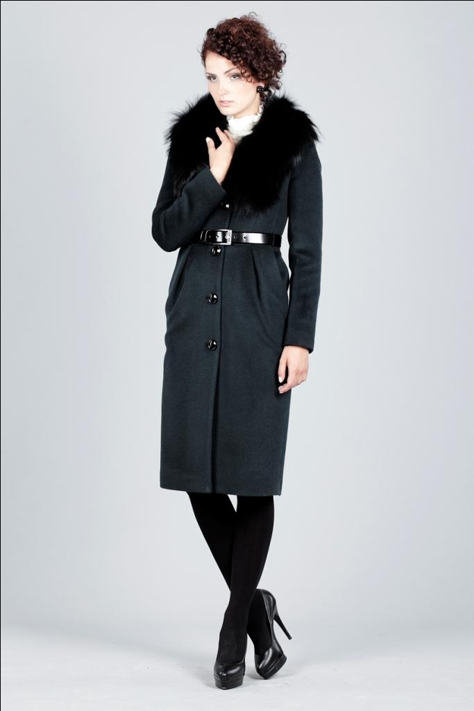 Пальто с меховым воротником фото (37 рисунки ) /